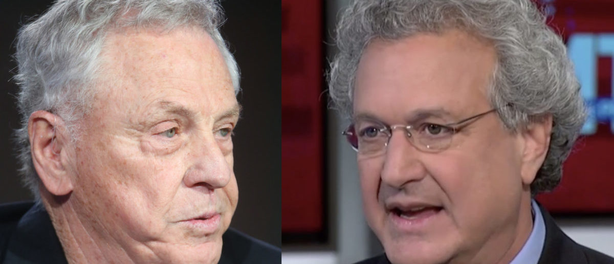 Left: Southern Poverty Law Center co-founder Morris Dees; Right: former SPLC president Richard Cohen (Left photo: Frederick M. Brown/Getty Images Right photo: screenshot/MSNBC)
