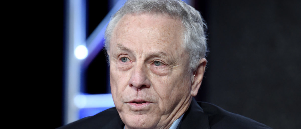 "Founder, Southern Poverty Law Center, Morris Dees of ""Hate in America"" speaks onstage during the Discovery Communications TCA Winter 2016 at The Langham Huntington Hotel and Spa on January 7, 2016 in Pasadena, California. (Photo by Amanda Edwards/Getty Images for Discovery Communications)"