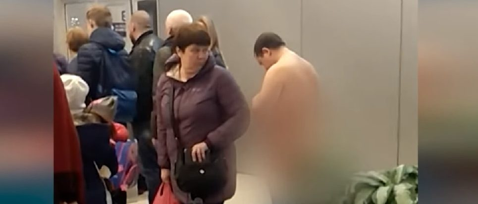 Naked Man Tries To Board Airplane, Claims Being Undressed Makes Him More 'Aerodynamic'
