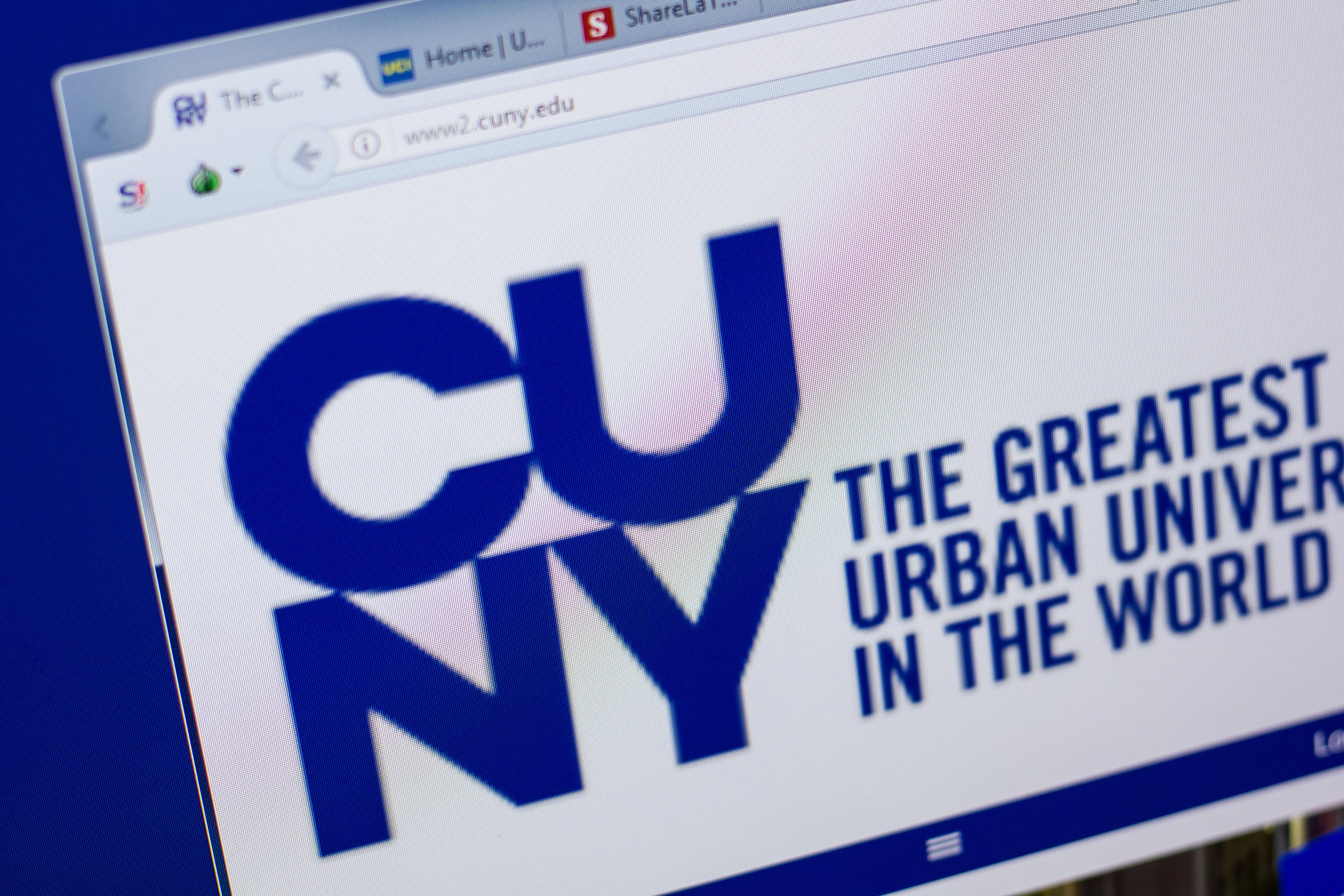 CUNY website (Sharaf Maksumov/Shutterstock)