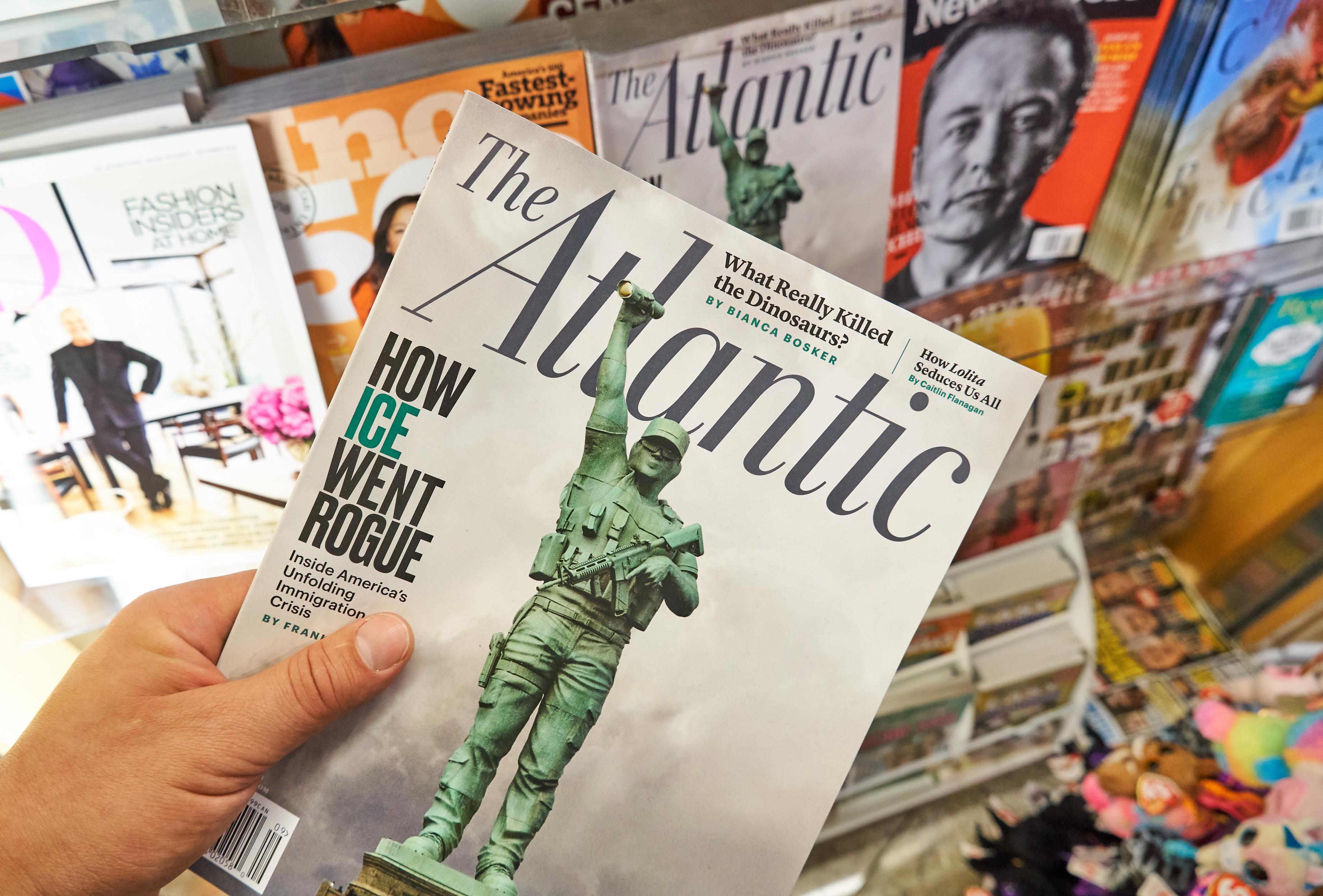 The Atlantic magazine (dennizn/Shutterstock)