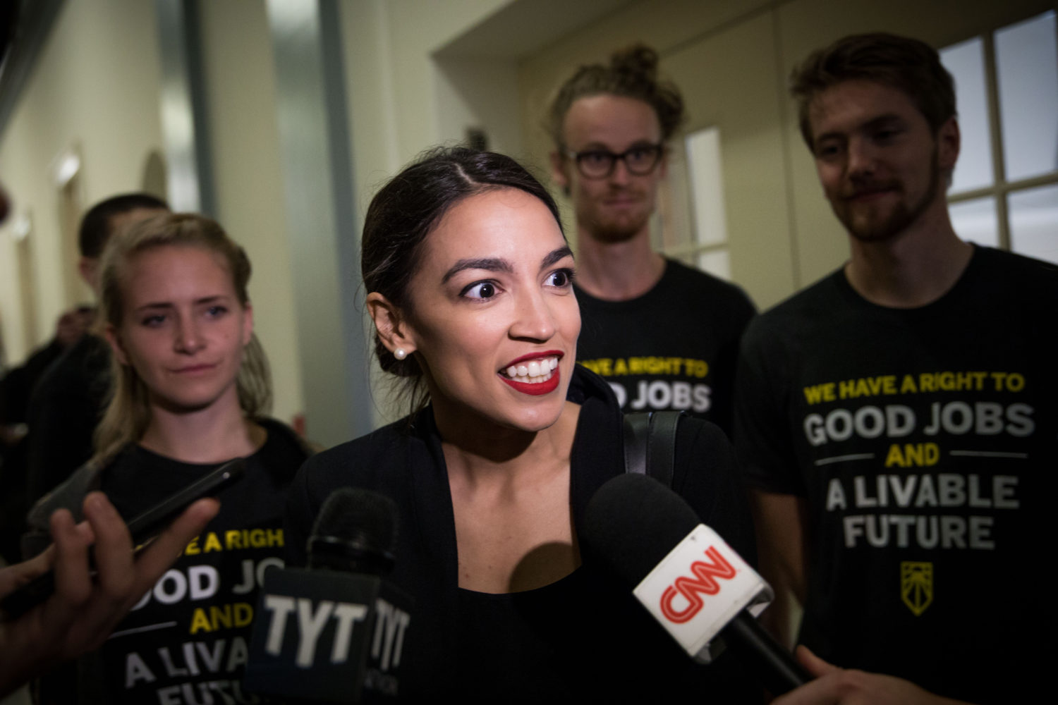 Time Magazine Claims Ocasio-Cortez's Staffers 'Stiffen' In Fear At Knocks On Her Door
