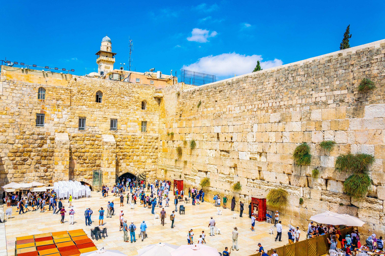 Wailing Wall in Jerusalem, Israel (trabantos/Shutterstock)