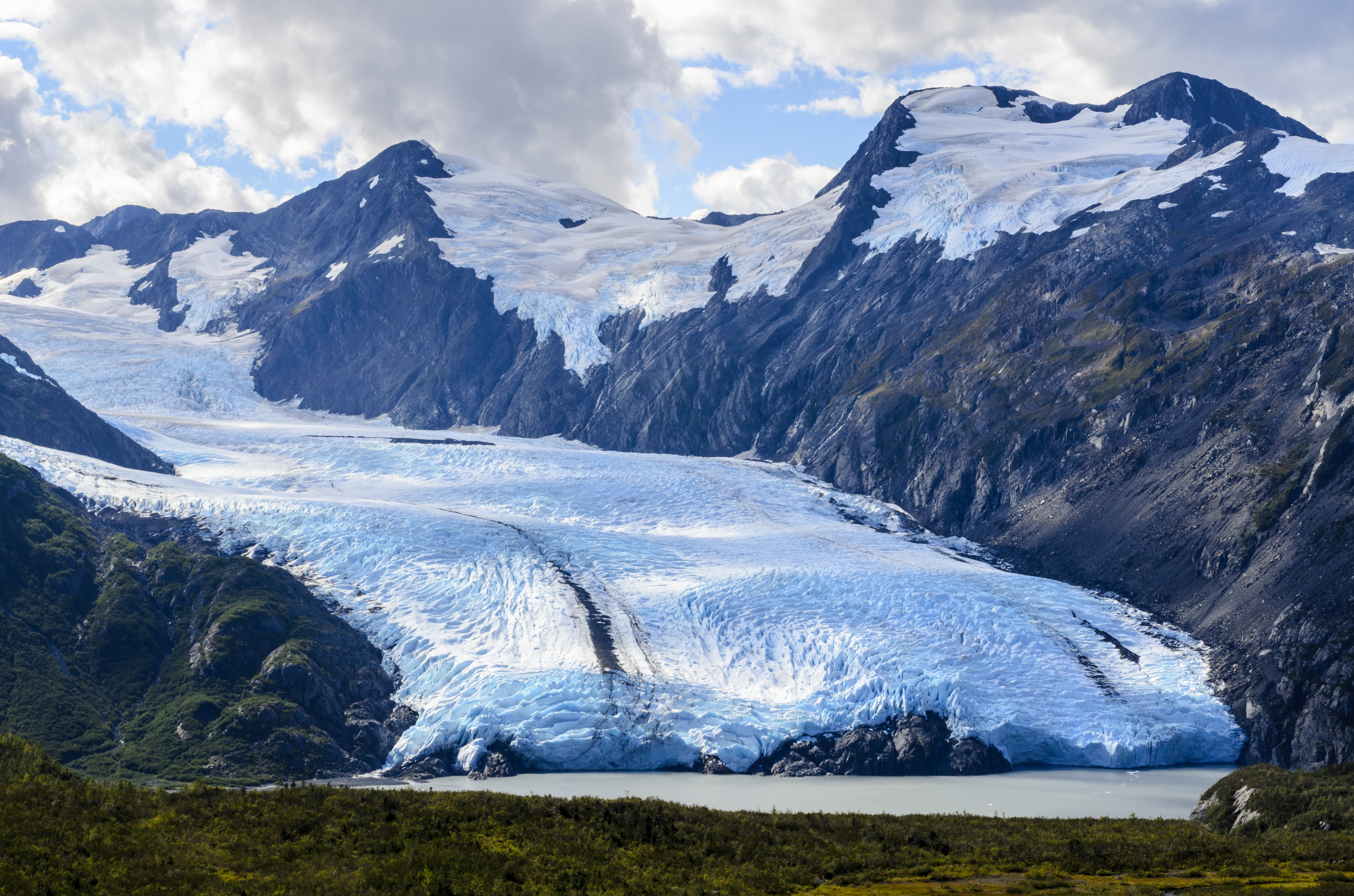 Portage Glacier is part of Chugach National Forest. Shutterstock image via user Susan R. Serna