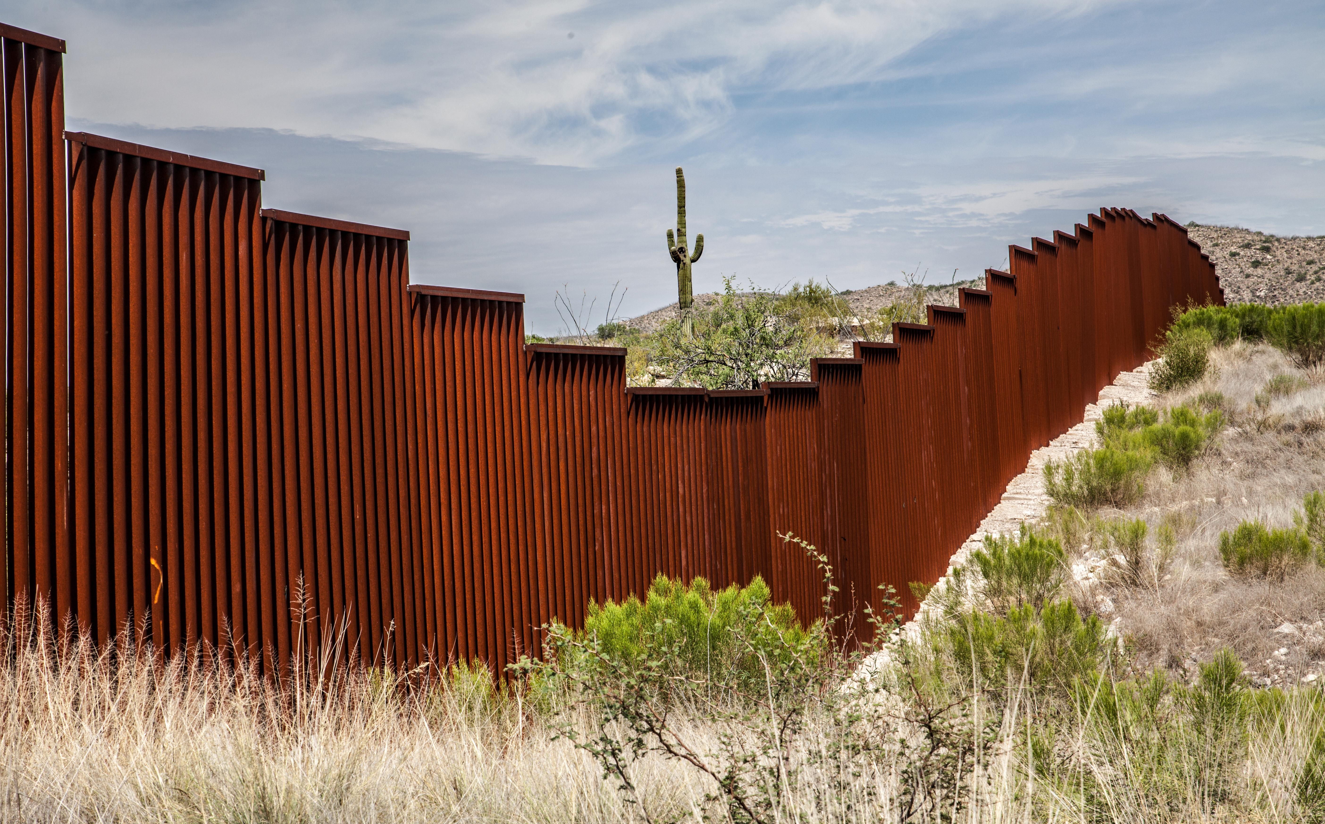 Border Wall (Shutterstock/ Chess Ocampo)