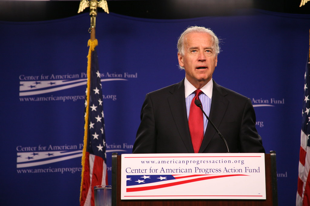 """Sen Joe Biden at Center for American Progress Action Fund May 20, 2008"""" by Center for American Progress Action Fund is licensed under CC BY-ND 2.0"""