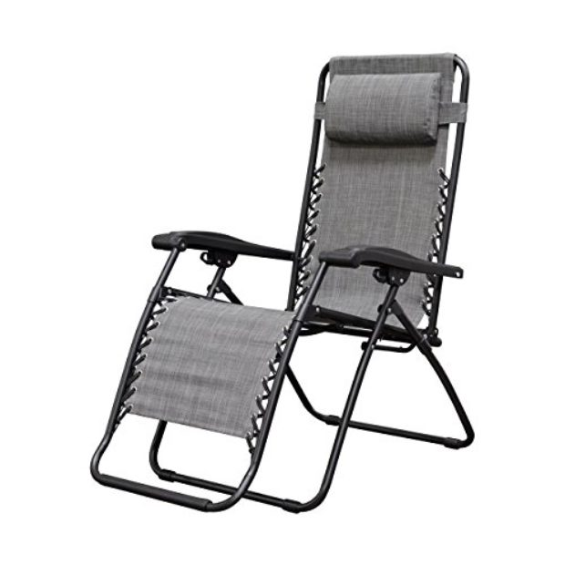 Normally $62.99, get these zero gravity chairs for almost 25 percent off (Photo via Amazon)