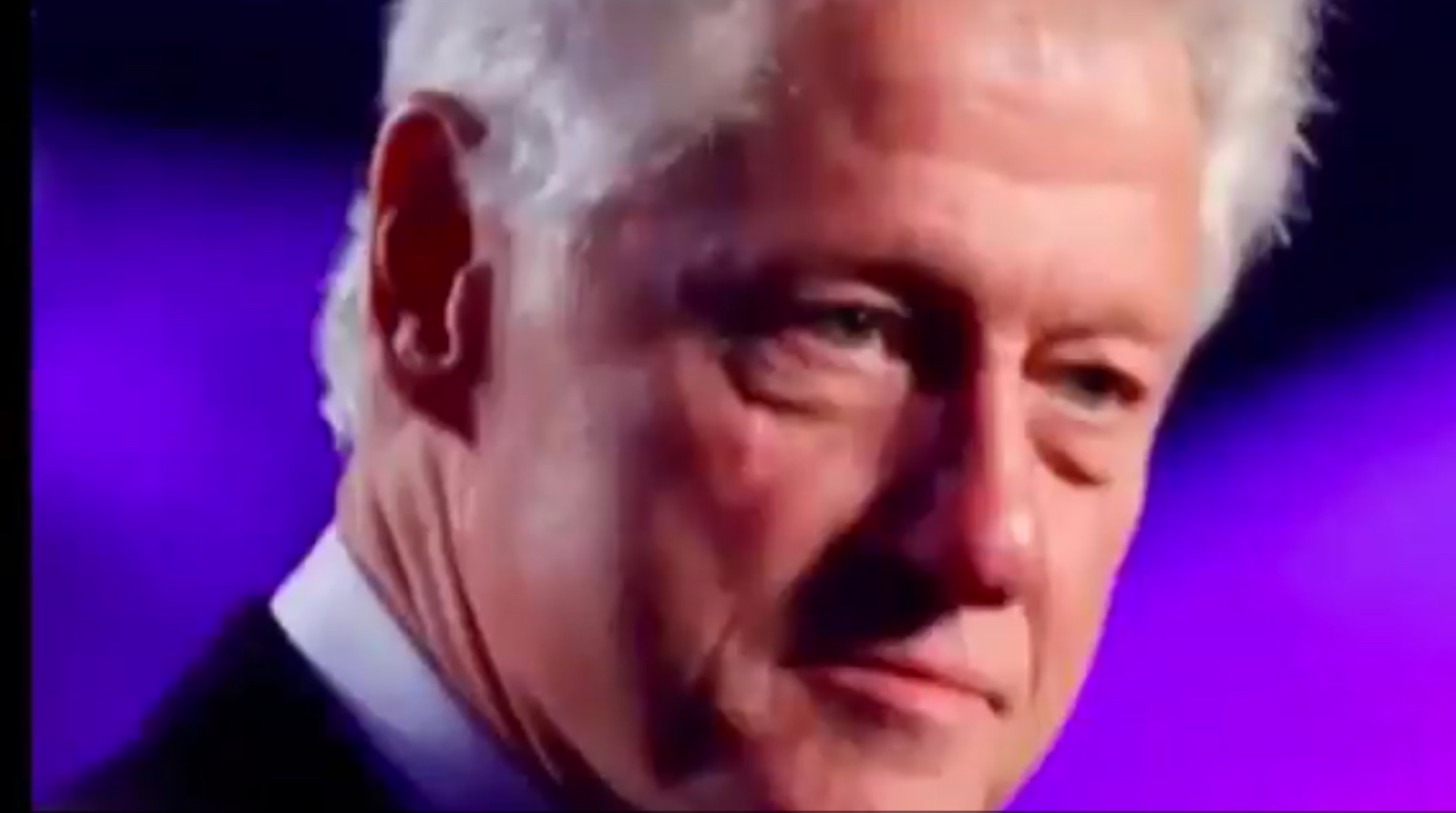 "Bill Clinton says it's ""time to make American great again' in ad spot for Hillary Clinton. Screenshot for the Official Trump War Room, via Twitter."