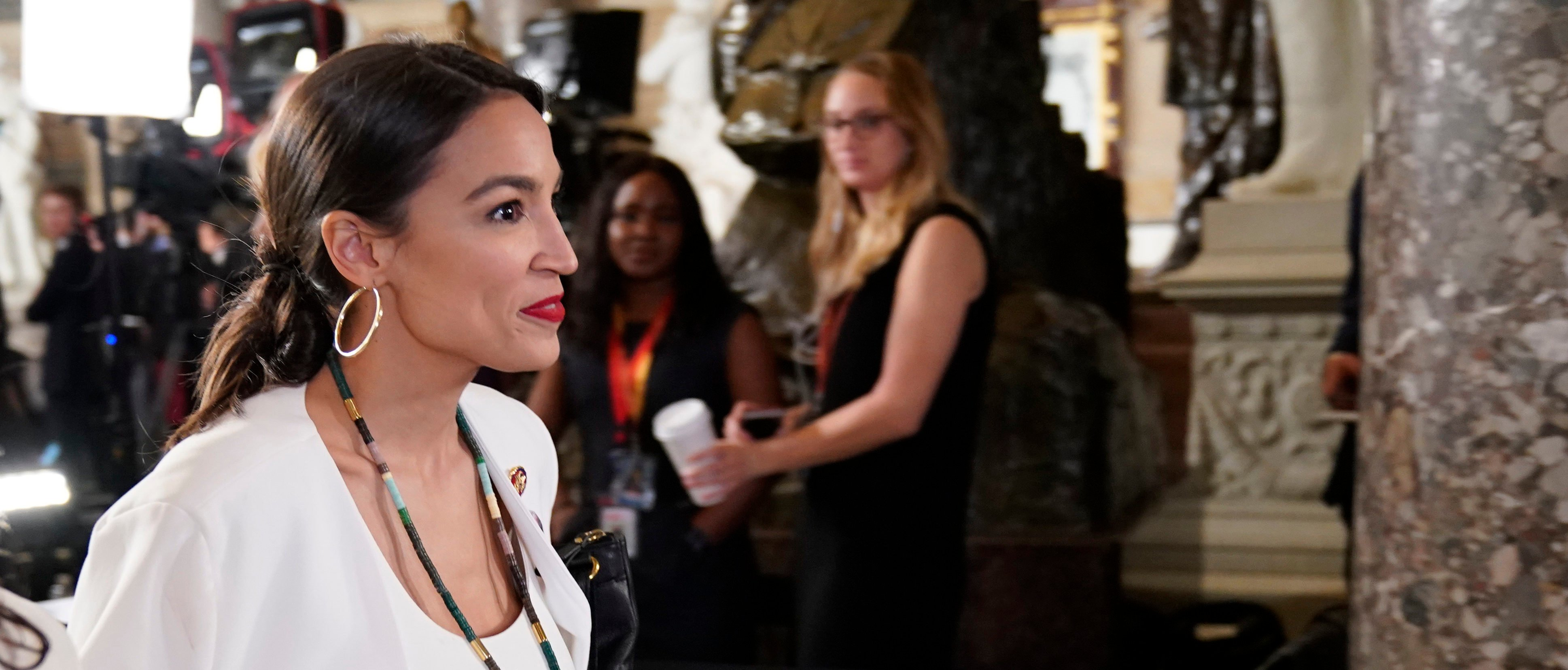 AOC Says She Won't Be Using Facebook Anymore REUTERS/Joshua Roberts