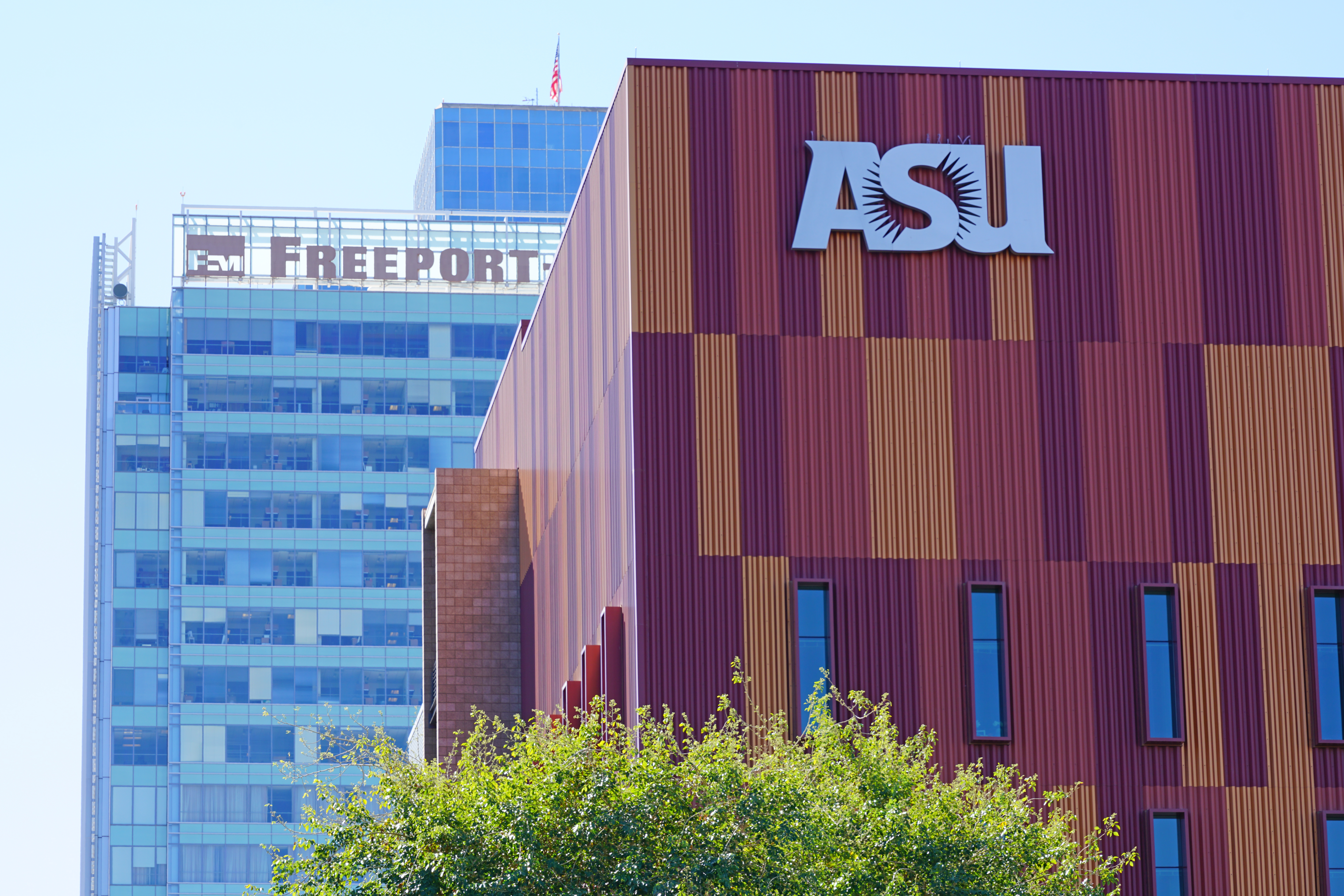 Pictured is Arizona State University. SHUTTERSTOCK/EQRoy