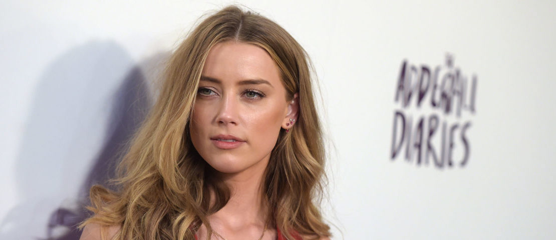 """Actress Amber Heard attends A24/DIRECTV's """"The Adderall Diaires"""" Premiere at ArcLight Hollywood on April 12, 2016 in Hollywood, California. (Photo by Jason Kempin/Getty Images)"""