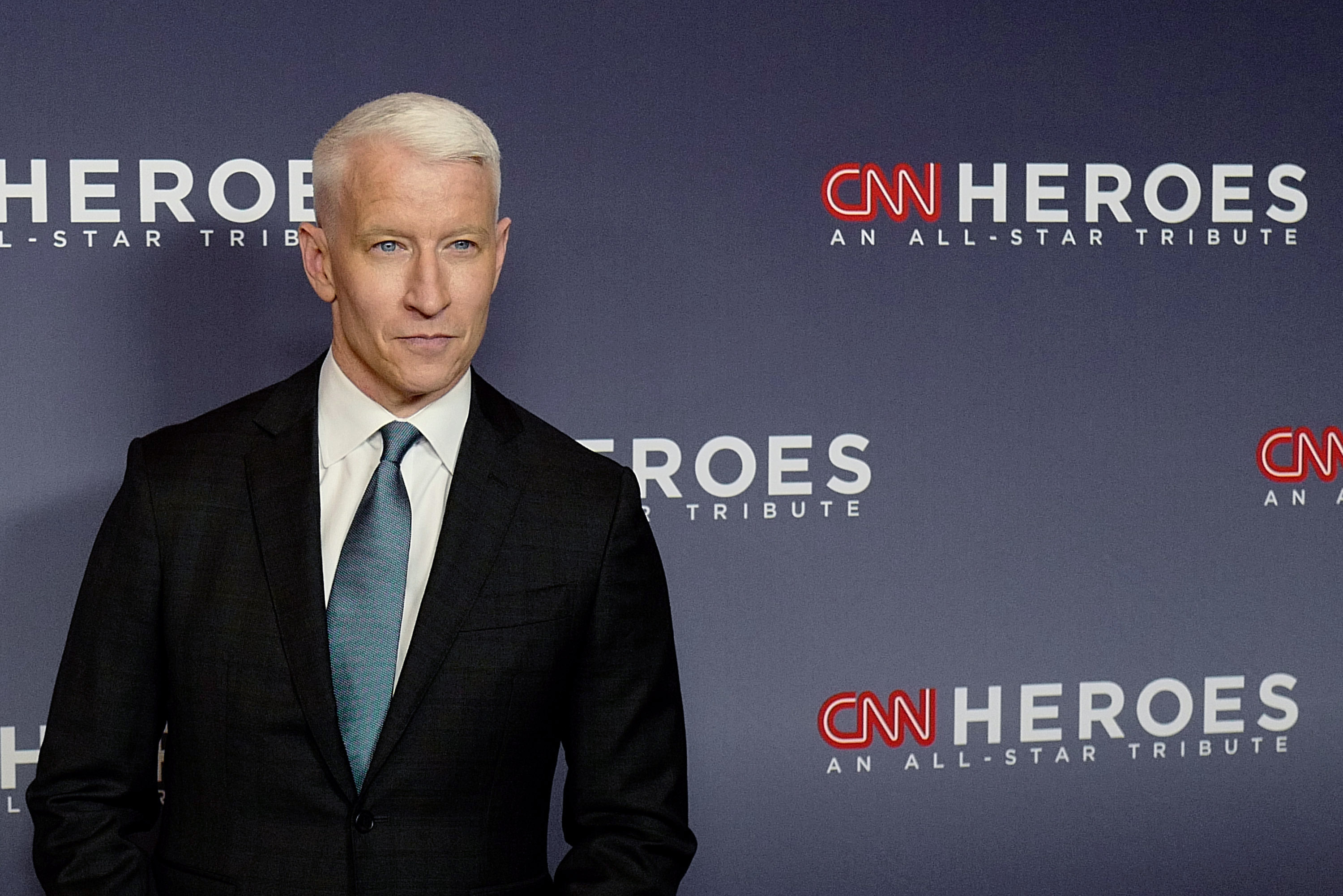 Anderson Cooper attends the 12th Annual CNN Heroes: An All-Star Tribute at American Museum of Natural History on December 09, 2018 in New York City. (Photo by Dominik Bindl/Getty Images)