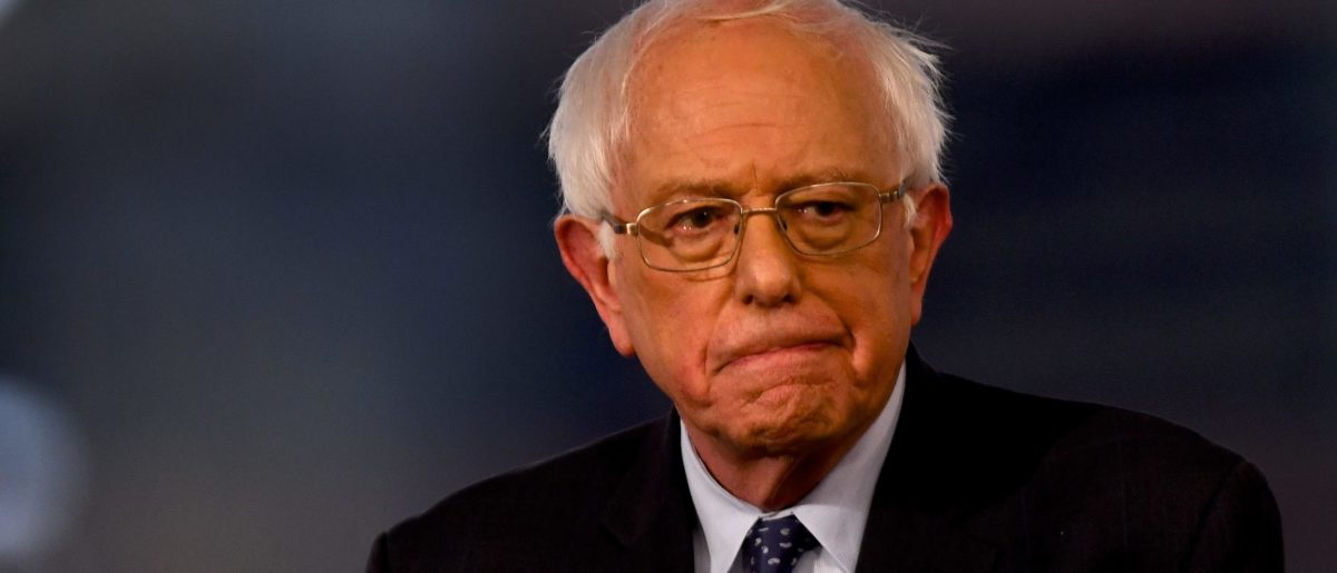 Democratic presidential candidate Sen. Bernie Sanders participates in a FOX News Town Hall. (Mark Makela/Getty Images)