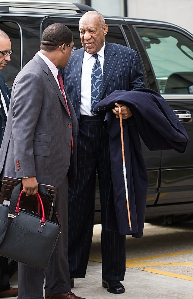 Bill Cosby is seen during the third day of his sexual assault retrial in Norristown, Pictured: Bill Cosby Picture by: Ouzounova/Splash News