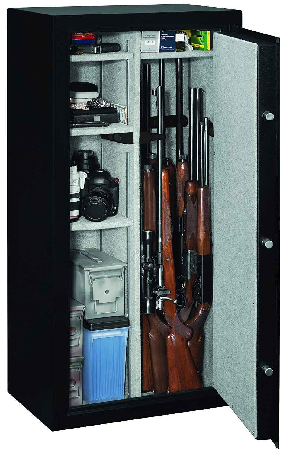 Can hold up to 22 guns (Photo via Amazon)