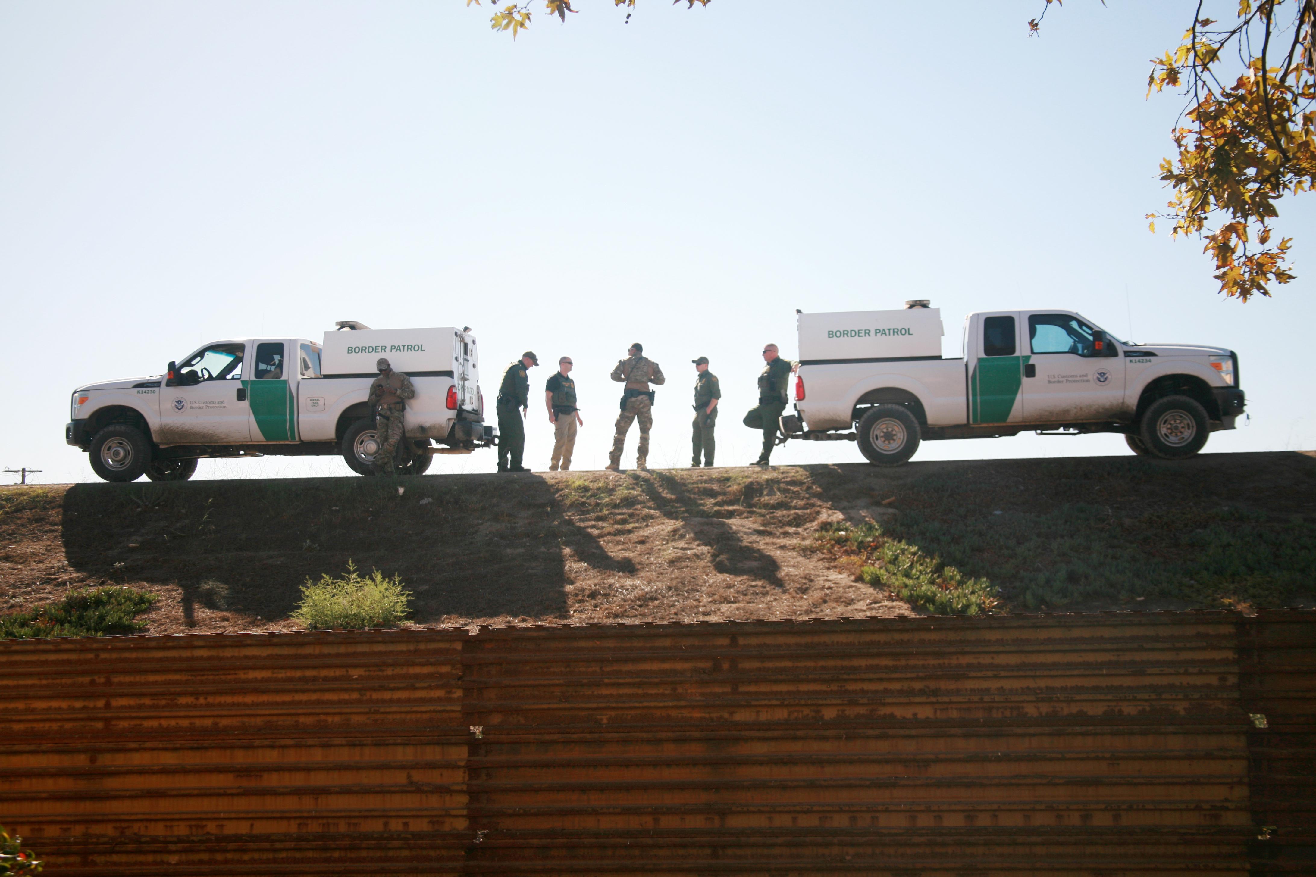 Border Patrol Car. Shutterstock