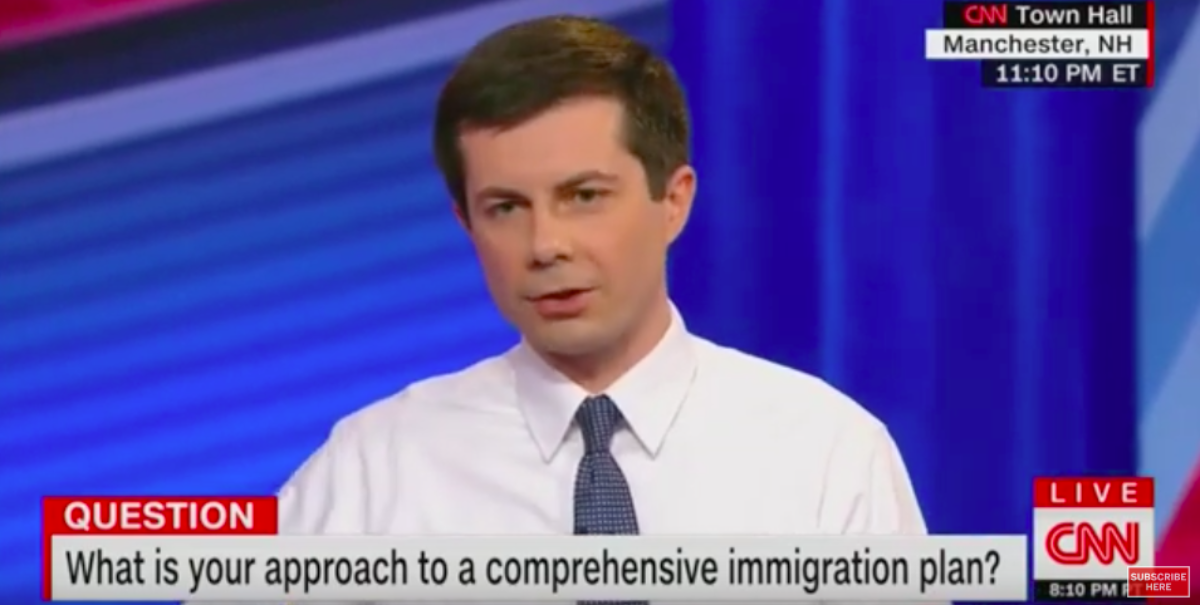 Pete Buttigieg Supports Pathway To Citizenship For All 11 Million Illegal Immigrants