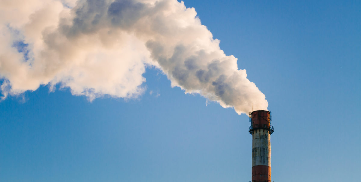 environmental pollution , the industry of large cities , the emissions of chemical. Shutterstock