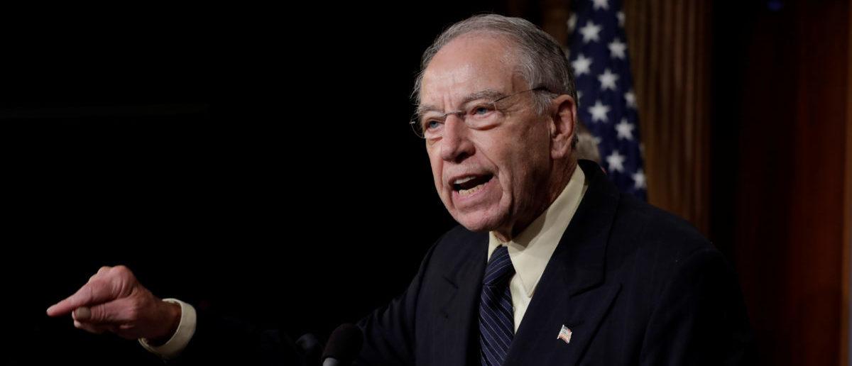 GOP Senators Ask Intelligence Community's IG About Classified Leaks Of Whistleblower Complaint