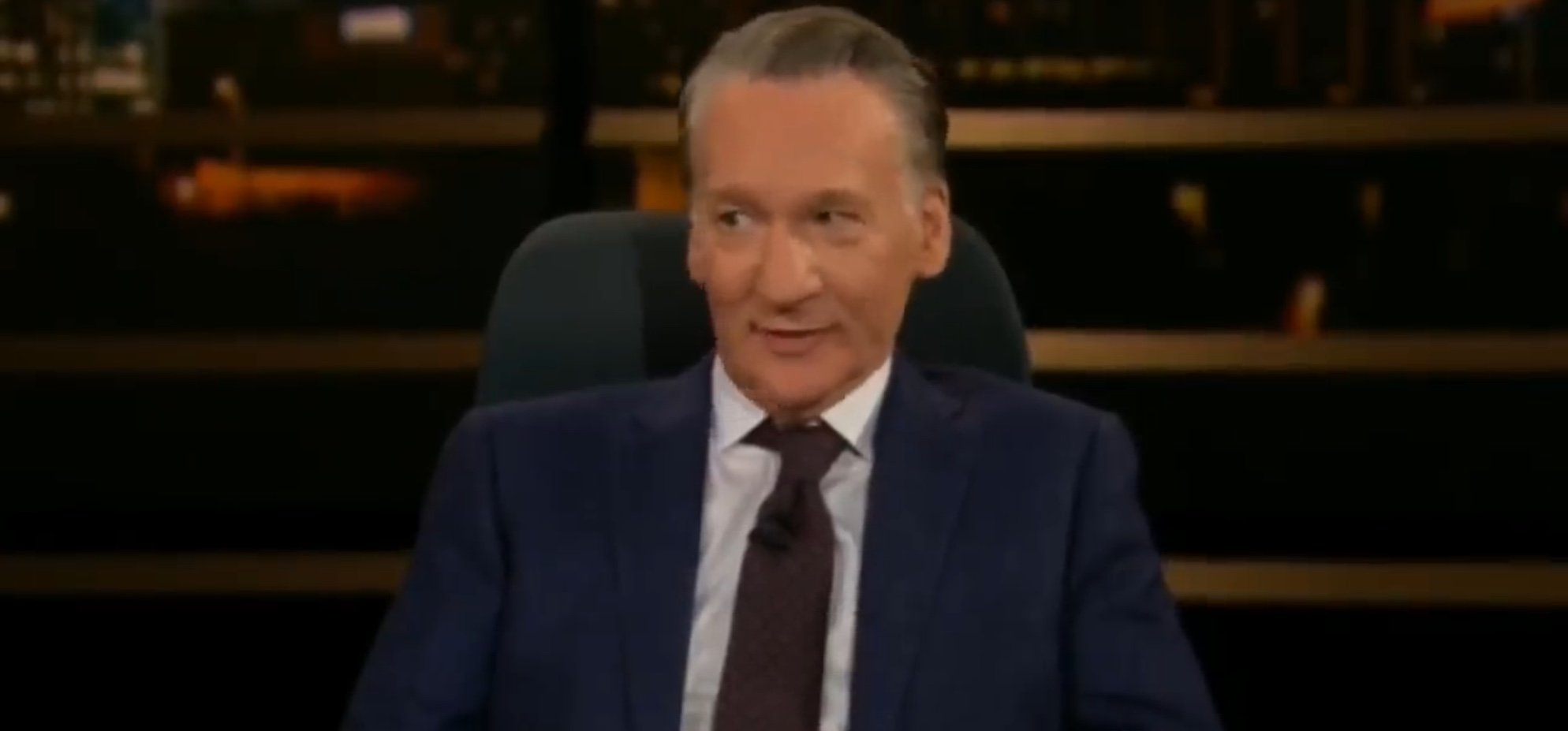 "Bill Maher, host of HBO's ""Real Time With Bill Maher,"" Apr. 12, 2019. YouTube screenshot"