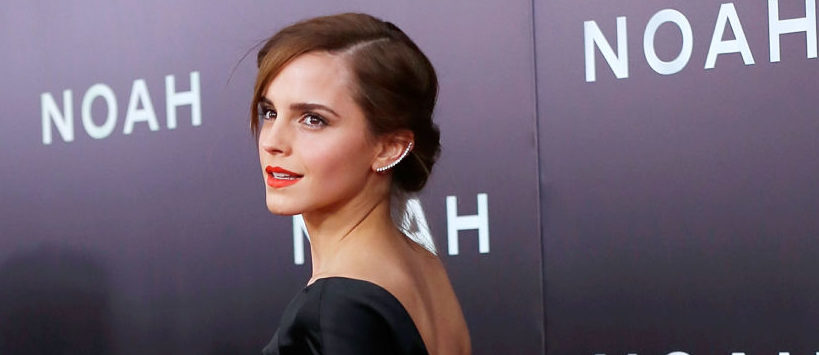 """Actress Emma Watson attends the New York Premiere of """"Noah"""" at Clearview Ziegfeld Theatre on March 26, 2014 in New York City. (Photo by Jemal Countess/Getty Images)"""