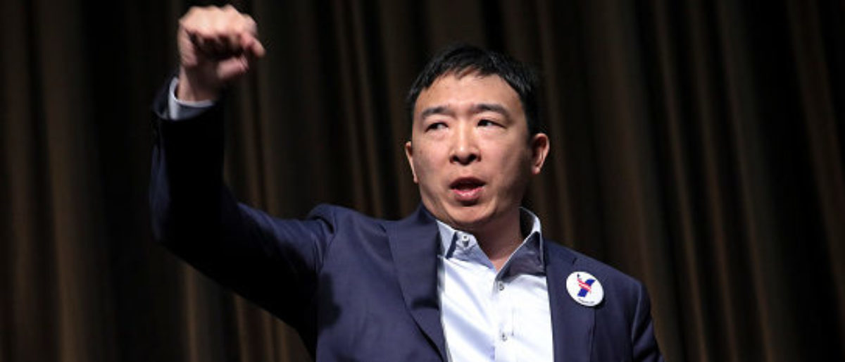 Andrew Yang To Campaign Via Hologram