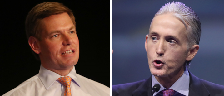 Gowdy: Swalwell Apologized For Being 'A White Guy' So He Could 'Climb To 1% In The Polling'
