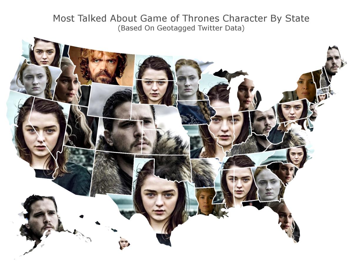Game of Thrones map (Credit: DaringPlanet.com)