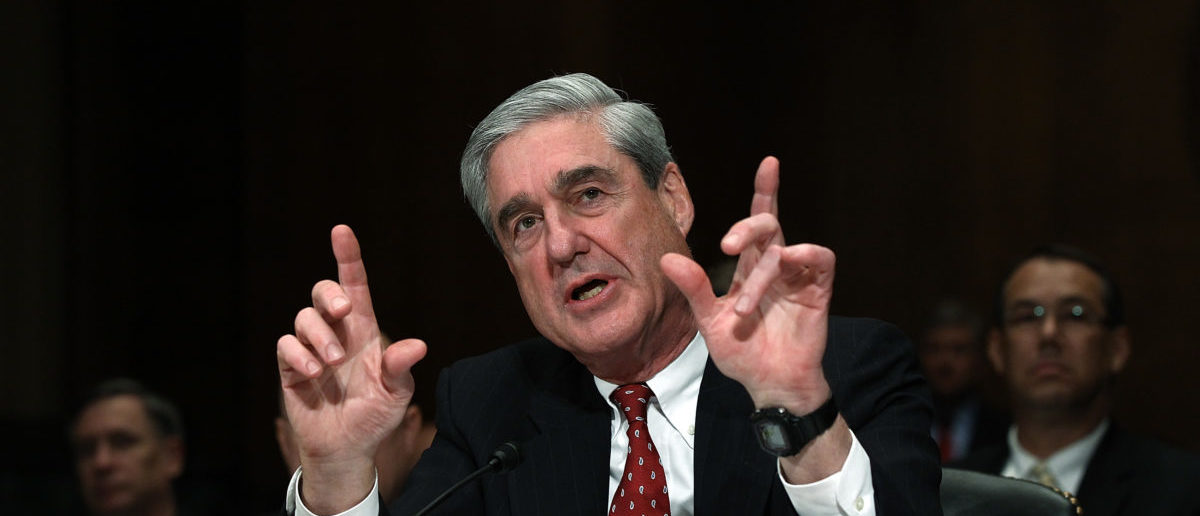 WASHINGTON, DC - DECEMBER 14: FBI Director Robert Mueller III testifies before the Senate Judiciary Committee during a oversight hearing on Capitol Hill December 14, 2011 in Washington, DC. Win McNamee/Getty Images)