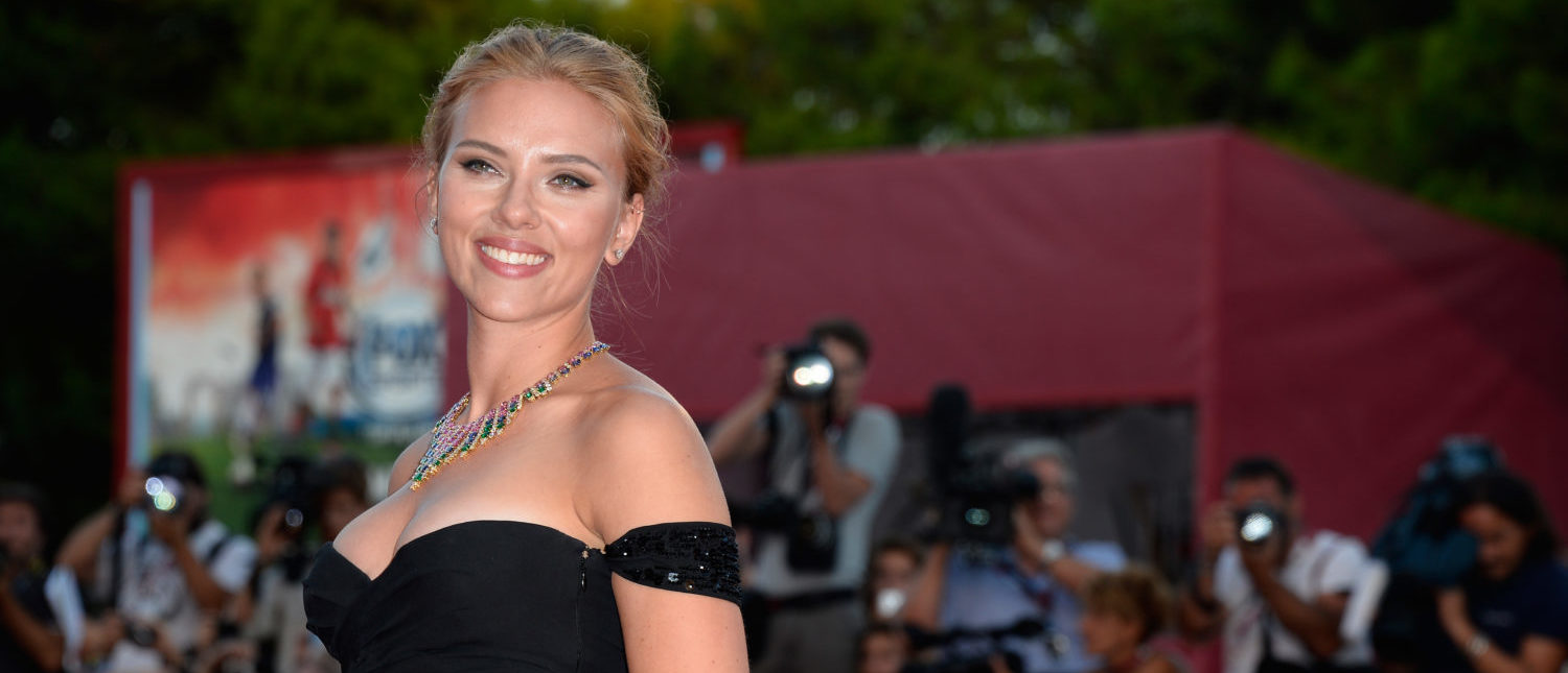 VENICE, ITALY - SEPTEMBER 03: Actress Scarlett Johansson attends 'Under The Skin' Premiere during the 70th Venice International Film Festival at Palazzo del Cinema on September 3, 2013 in Venice, Italy. (Photo by Pascal Le Segretain/Getty Images)