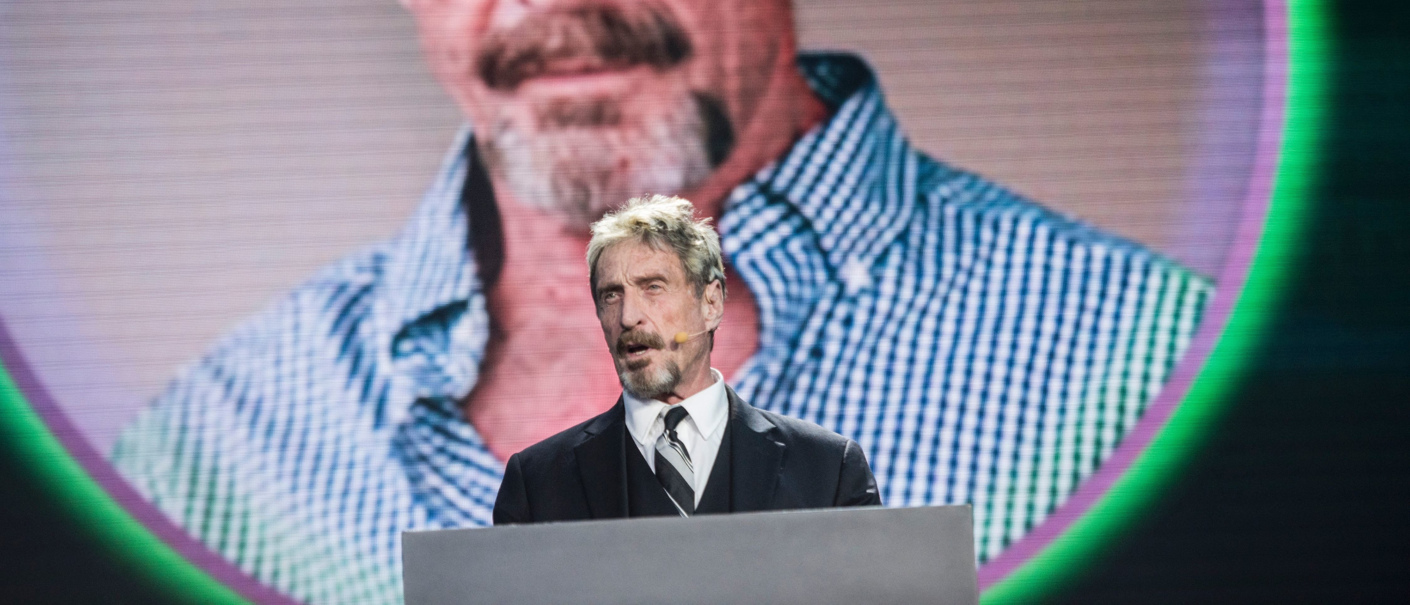 John McAfee On Trump, And What He's Going To Do If Bitcoin Doesn't Reach $1 Million
