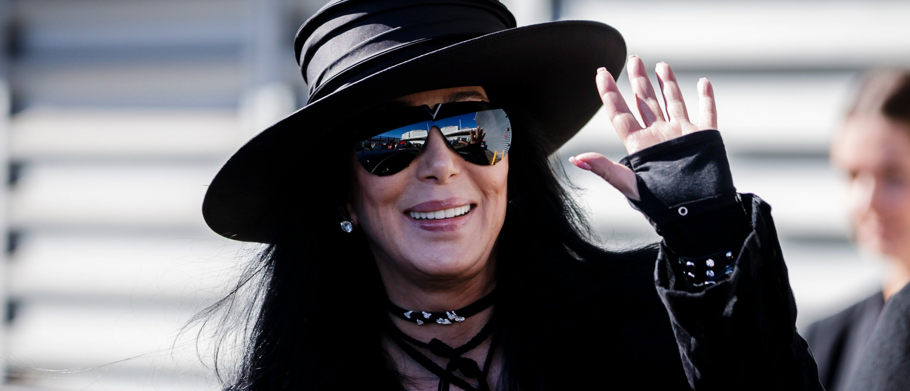 SYDNEY, AUSTRALIA - FEBRUARY 28: American singer and actress Cher arrives at the Sydney International Airport on February 28, 2018 in Sydney, Australia. Cher is in Australia to headline the 40th anniversary of the Sydney Gay and Lesbian Mardi Gras party. (Photo by Brook Mitchell/Getty Images