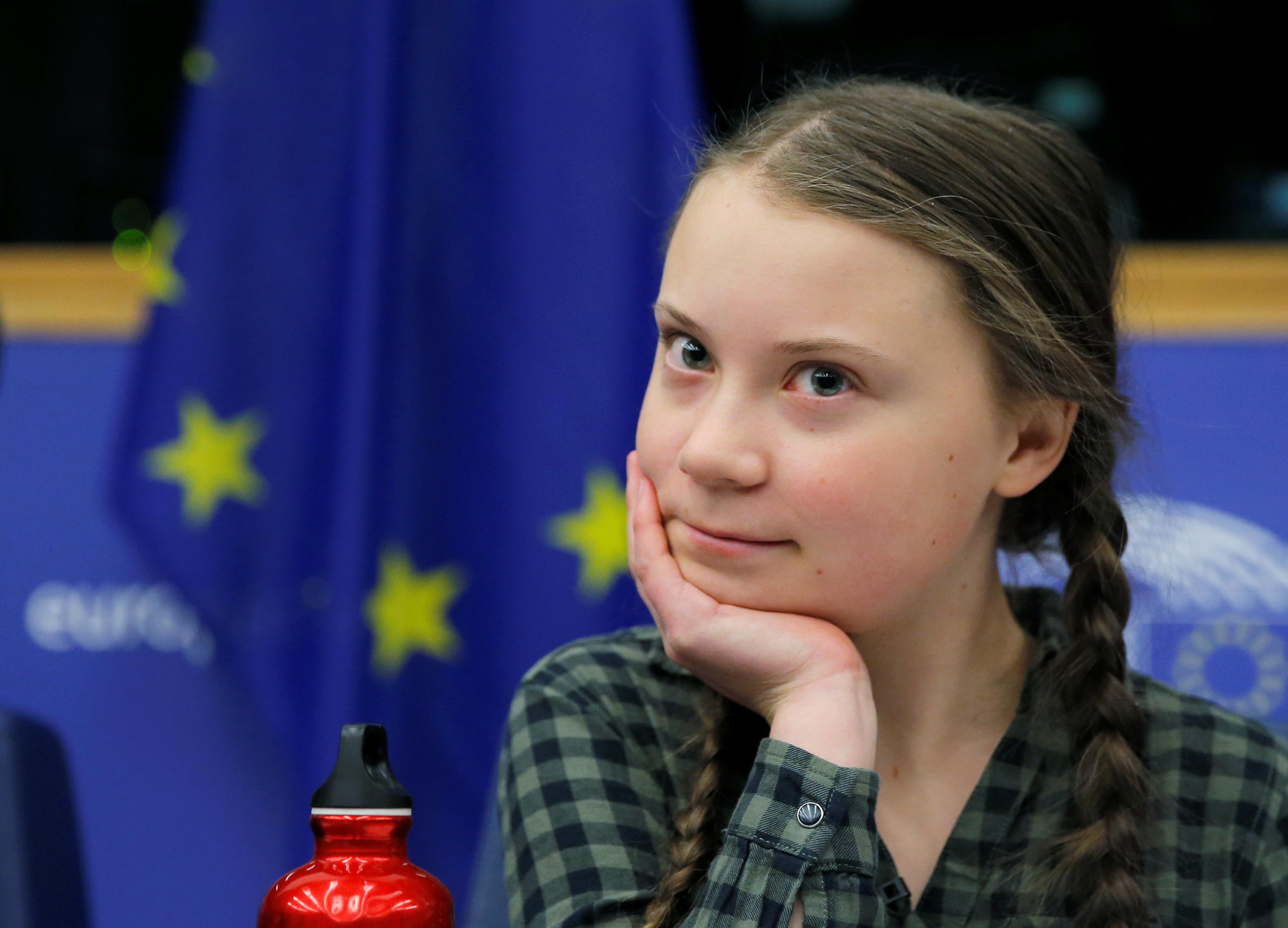 Teen climate activist warns EU its time to panic