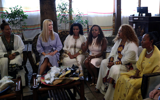Ivanka Trump lands in Africa to promote USA  jobs plan for women