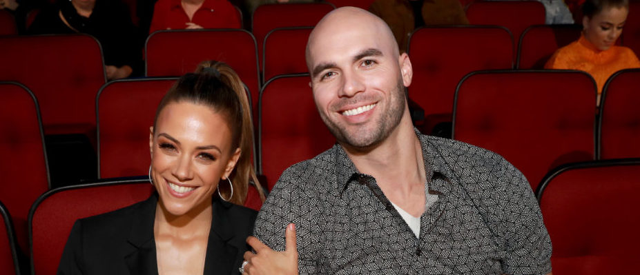 (L-R) Jana Kramer and Mike Caussin attend the 2019 iHeartRadio Music Awards which broadcasted live on FOX at the Microsoft Theater on March 14, 2019 in Los Angeles, California. (Photo by Rich Fury/Getty Images for iHeartMedia)