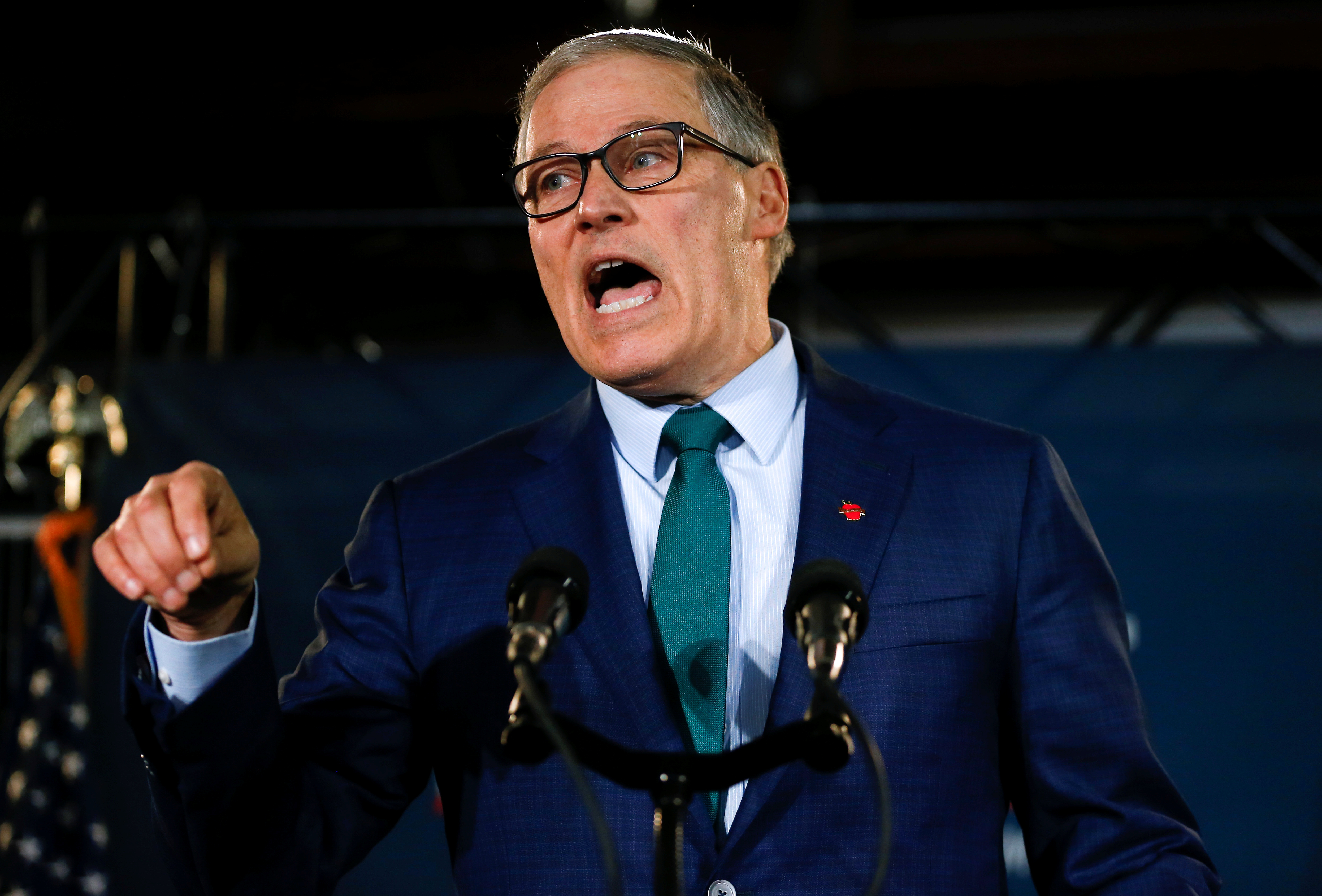 What's 2020 Hopeful Jay Inslee's Plan To Address The Immigration Crisis? 'Attack Climate Change'