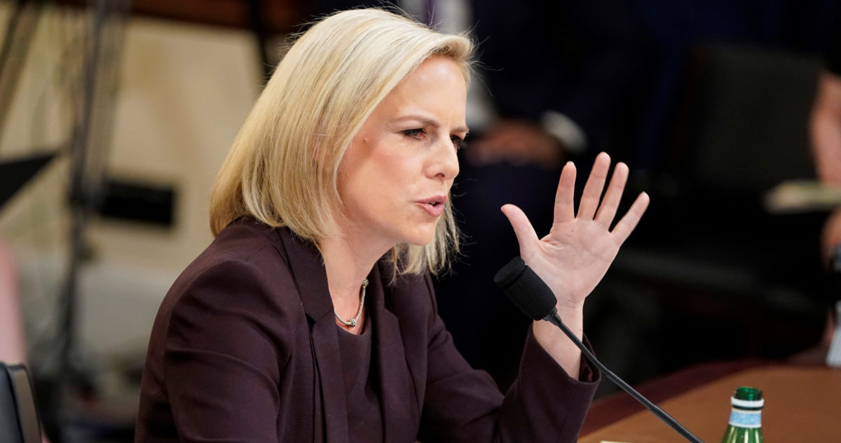 DHS Secretary Nielsen testifies before House Homeland Security Committee hearing on border security on Capitol Hill in Washington
