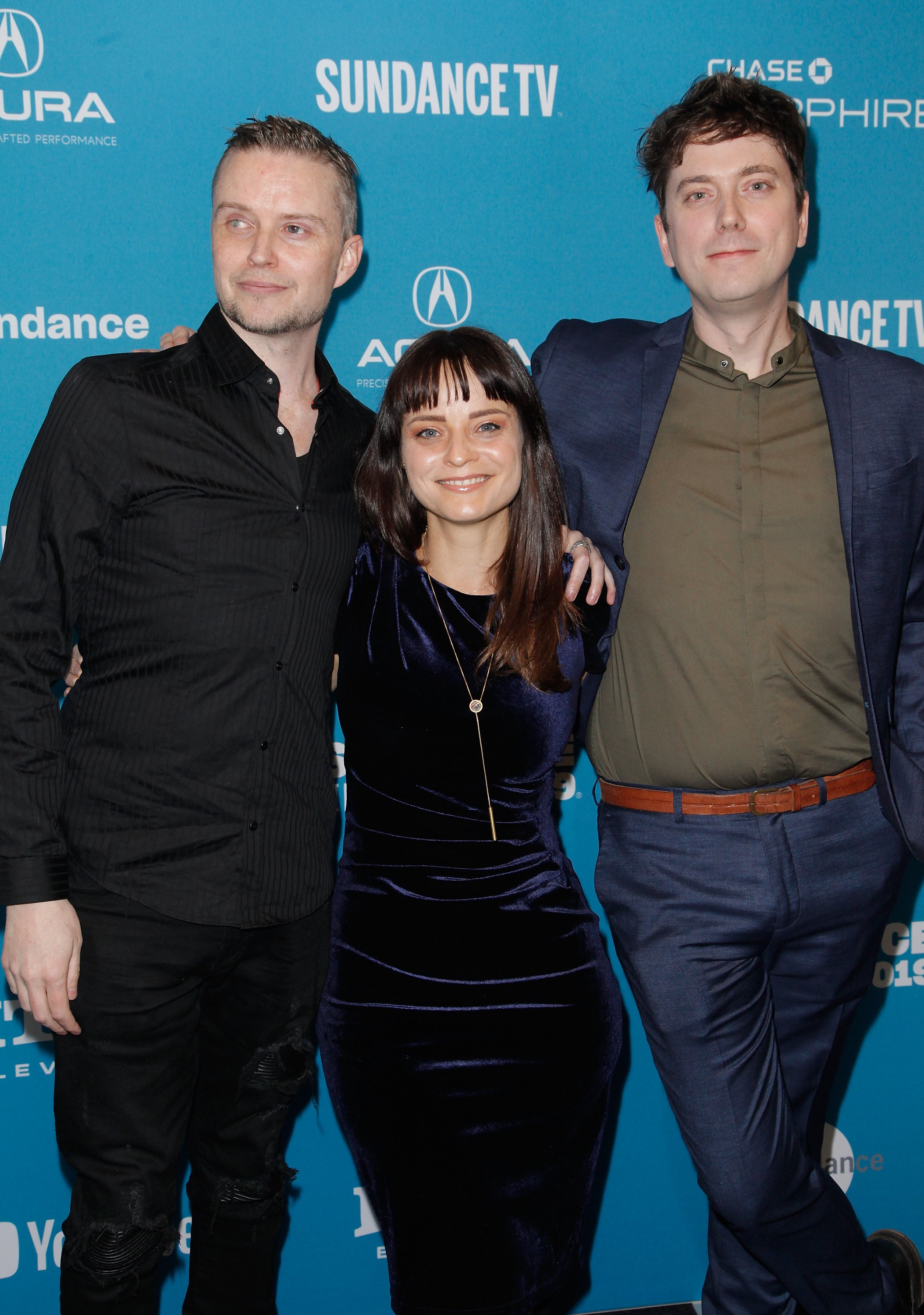 "PARK CITY, UT - JANUARY 25: (L-R) Lucien Greaves, Penny Lane, and Gabriel Sedgwick attend the ""Hail Satan?"" Premiere during the 2019 Sundance Film Festival at The Ray on January 25, 2019 in Park City, Utah. (Photo by Tibrina Hobson/Getty Images)PARK CITY, UT - JANUARY 25: (L-R) Lucien Greaves, Penny Lane, and Gabriel Sedgwick attend the ""Hail Satan?"" Premiere during the 2019 Sundance Film Festival at The Ray on January 25, 2019 in Park City, Utah. (Photo by Tibrina Hobson/Getty Images)"
