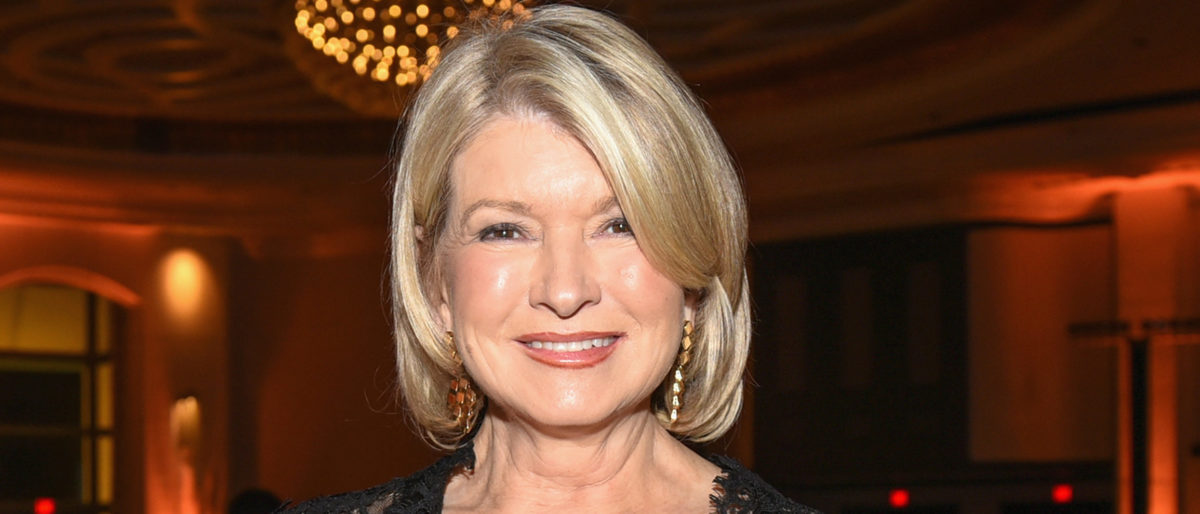 Martha Stewart attends a Tribute Dinner Honoring Jonathan Waxman, Rob Sands and Richard Sands With Master Of Ceremonies Tom Colicchio Presented By Bank of America during 2016 Food Network & Cooking Channel South Beach Wine & Food Festival Presented By FOOD & WINE at Loews Miami Beach Hotel on February 27, 2016 in Miami Beach, Florida. (Photo by Denis Contreras/Getty Images for SOBEWFF®)
