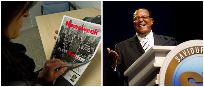 Newsweek's 'Who Is Louis Farrakhan?' Story Originally Failed To Mention Anti-Semitism