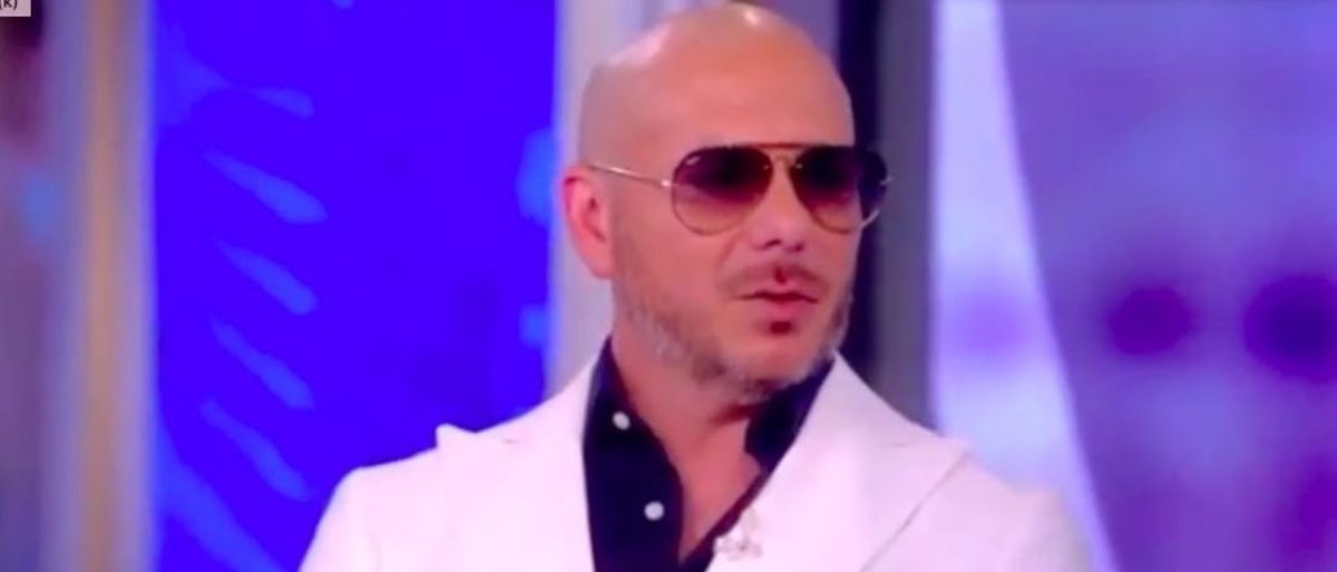 Superstar Pitbull Tells 'View': 'Mexico Is Not Crossing The Border. The Border Crossed Mexico'