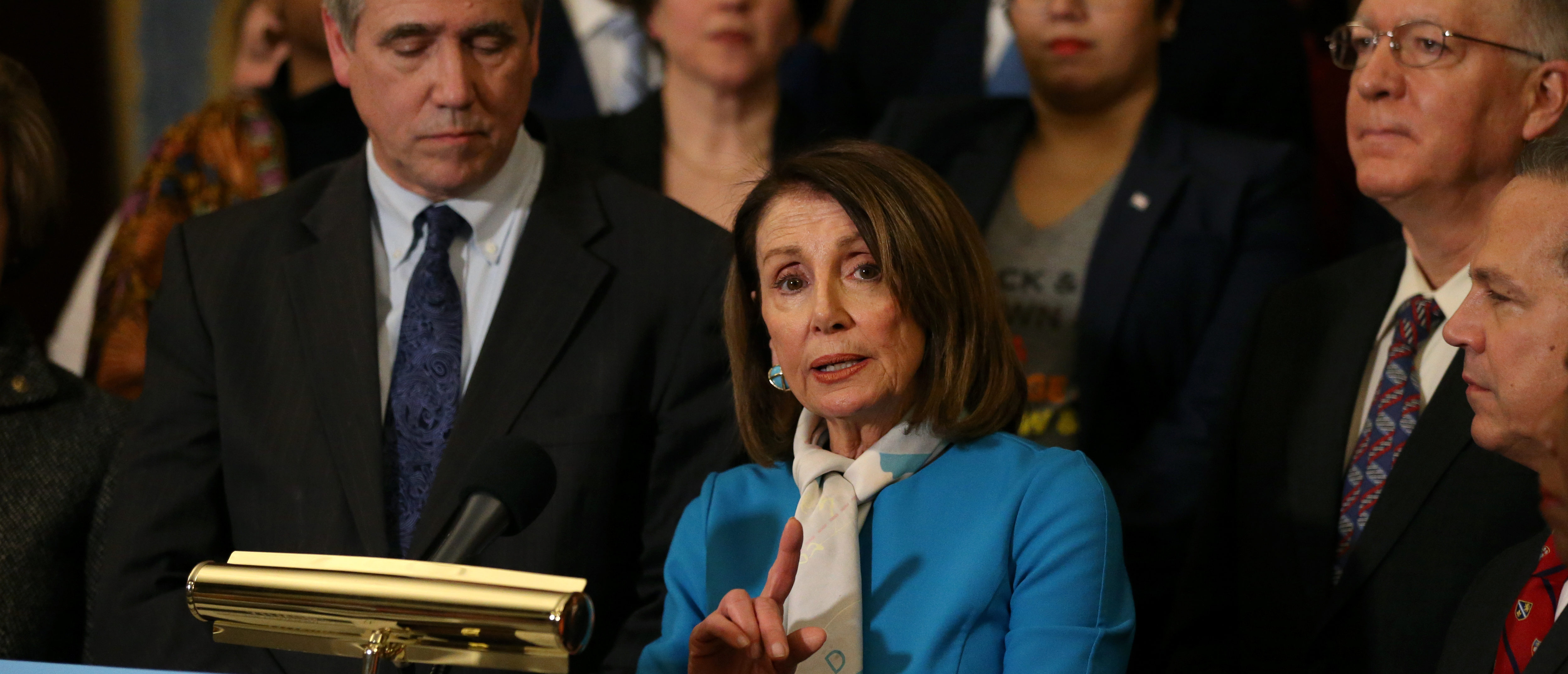 U.S. House of Representatives Speaker Nancy Pelosi speaks about the introduction of the Equality Act at the U.S. Capitol building in Washington, U.S., March 13, 2019. REUTERS/Leah Millis.