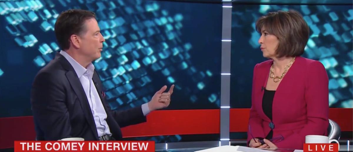 James Comey Interviewed By Christiane Amanpour (CNN Screenshot: April 2, 2019)