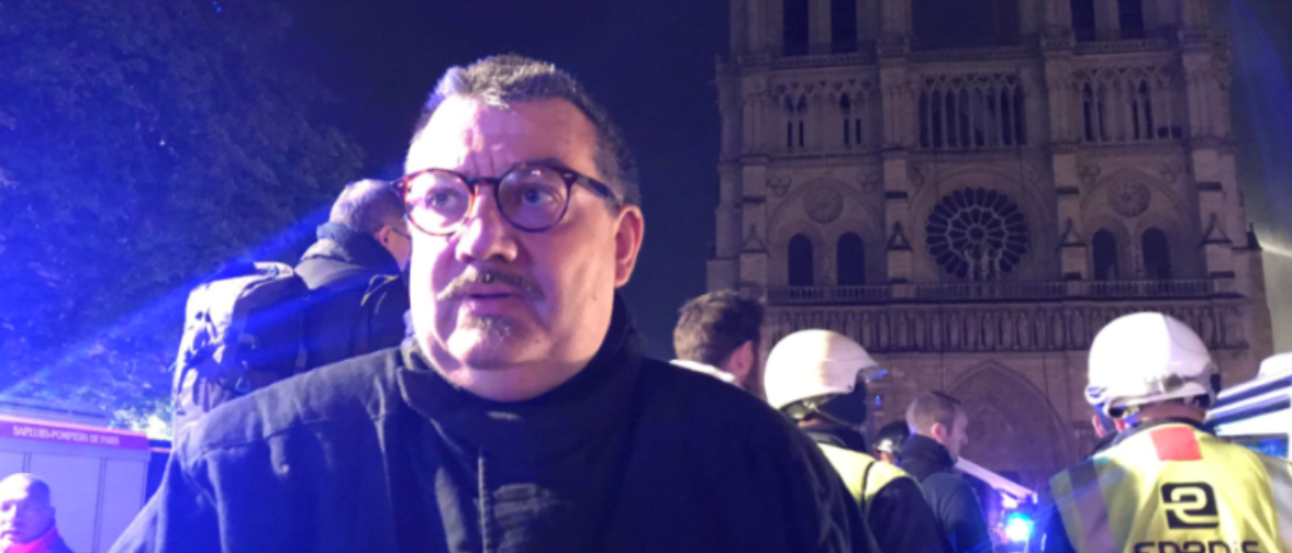 Father Jean-Marc Fournier (Twitter screenshot)