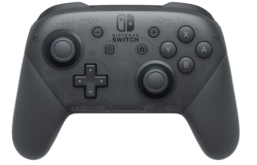 The official Nintendo Switch Pro Controller is the optimal way to enjoy games like Mario Kart, Super Smash Bros, Zelda: Breath of the Wild, and more (Photo via Amazon)