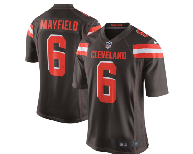 Last year, the Cleveland Browns took Baker Mayfield #1 Overall? Who will go #1 this year? (Photo via Fanatics)