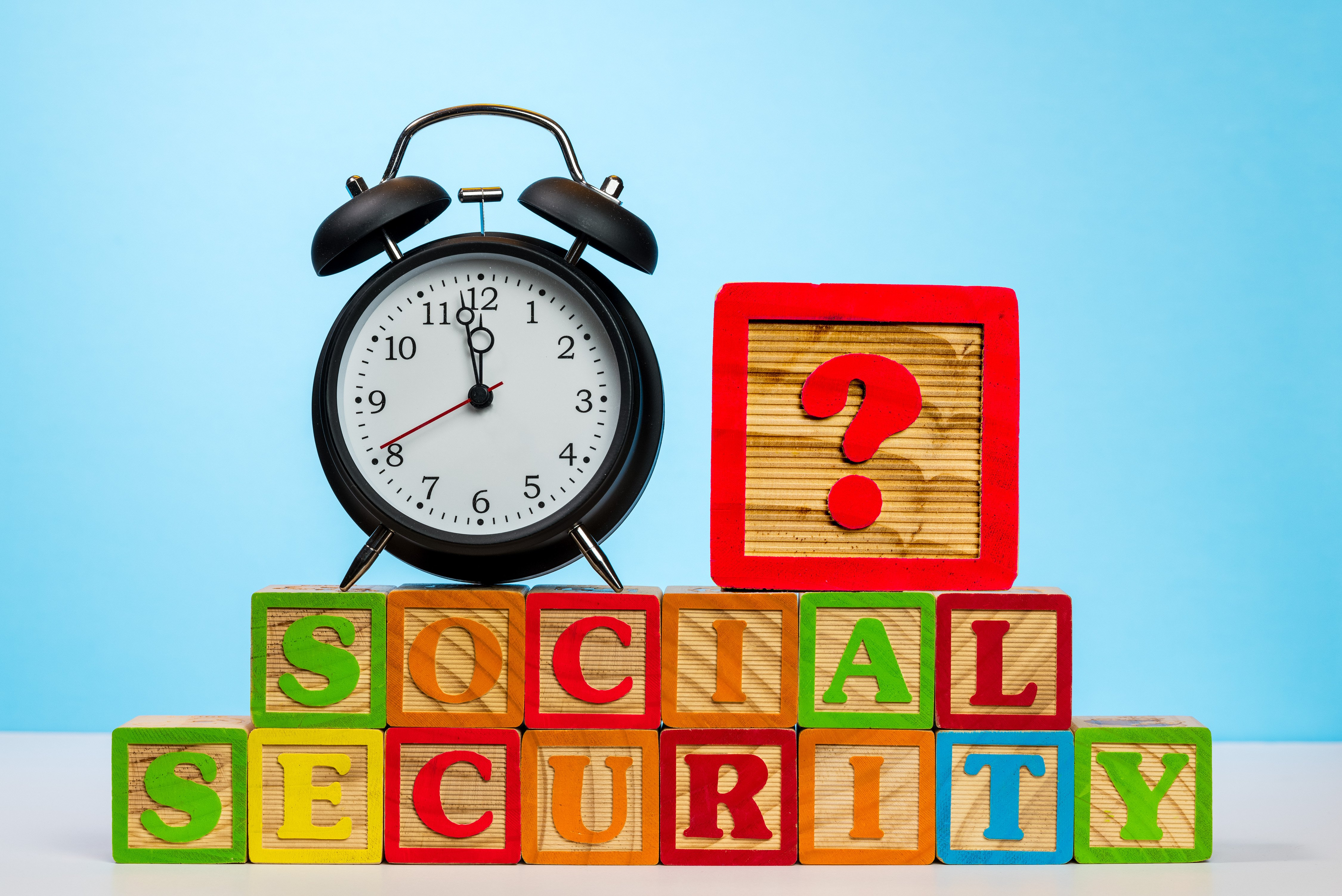 Pictured is the concept of running out of Social Security. SHUTTERSTOCK/Steve Heap