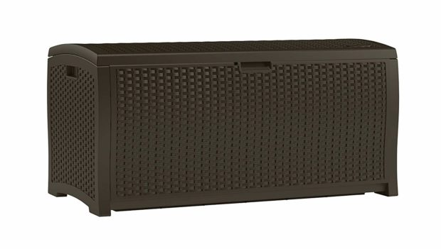 This sturdy outdoor storage solution normally retails for $150 but you can get yours today for just $102 (Photo via Amazon)