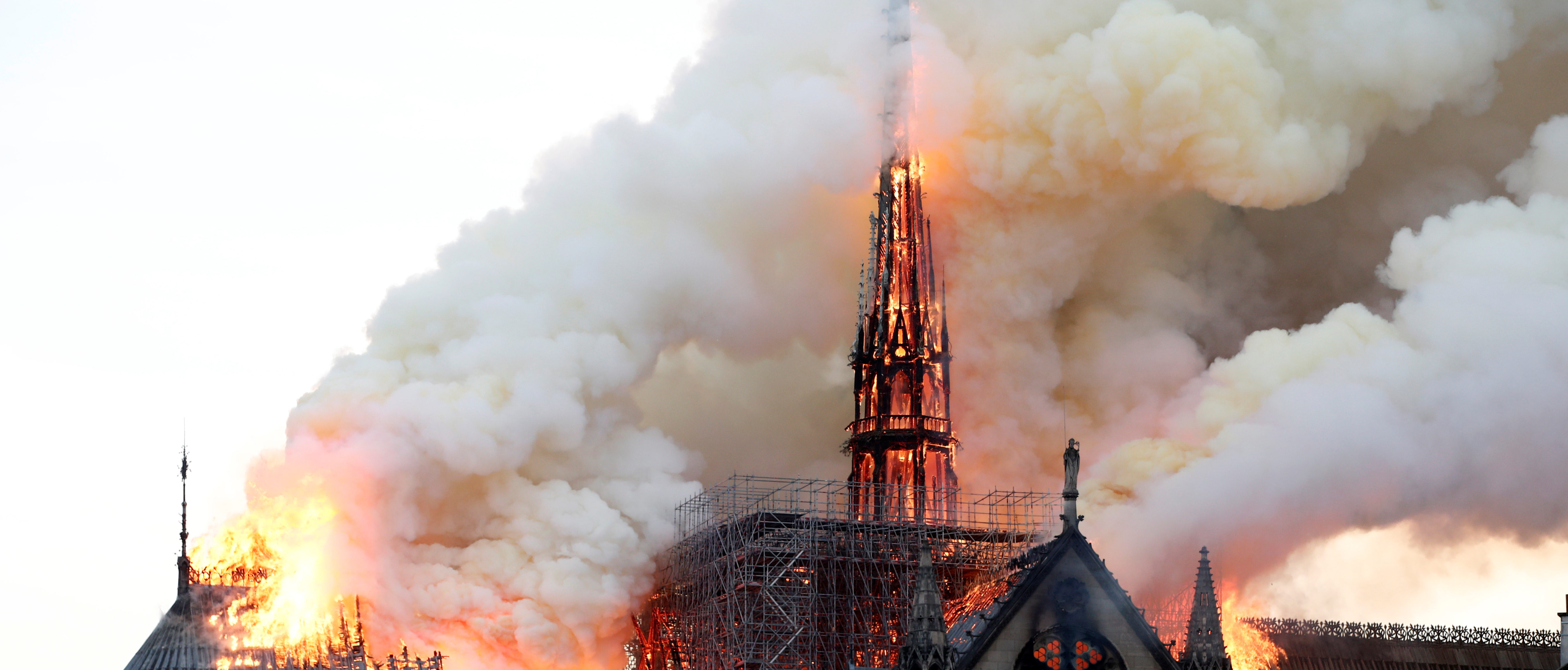 YouTube Accidentally Links Fires to 9/11 REUTERS/Benoit Tessier