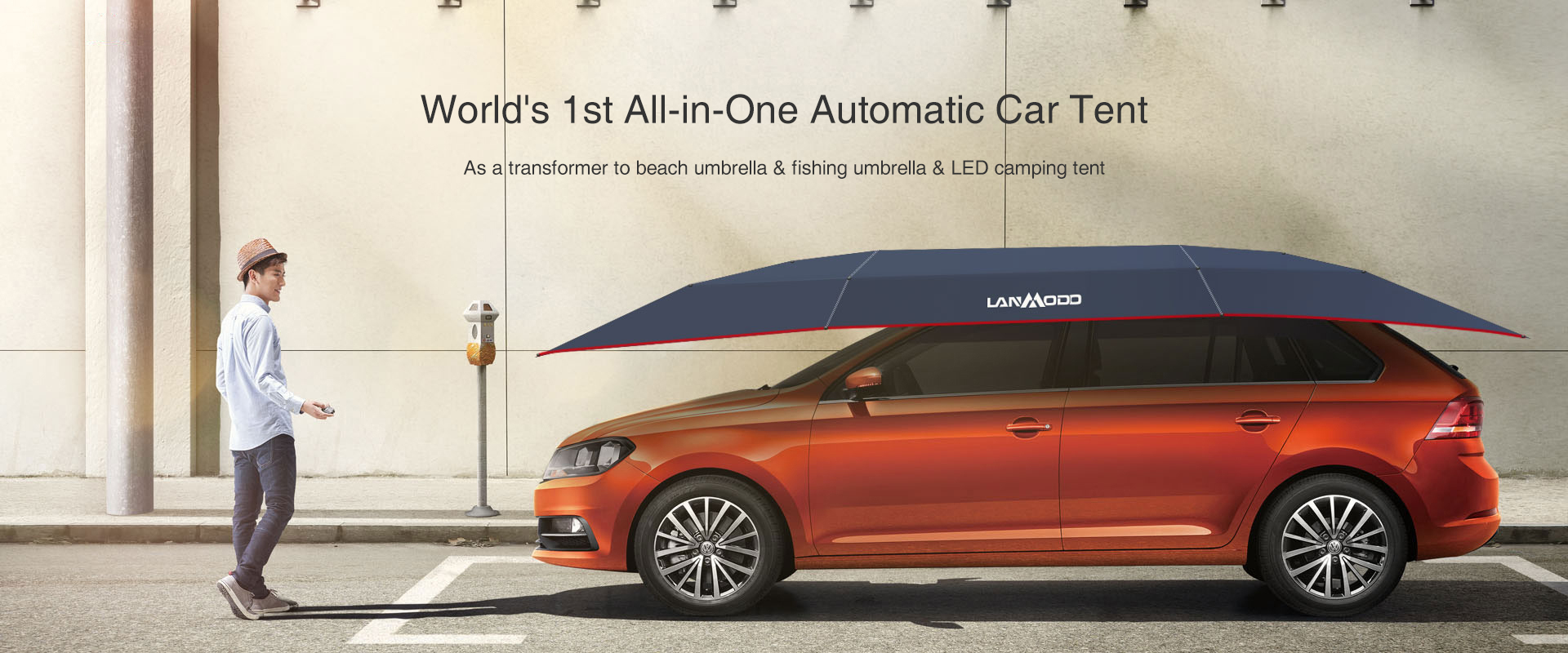 Get your Lanmodo Automatic Car Tent today